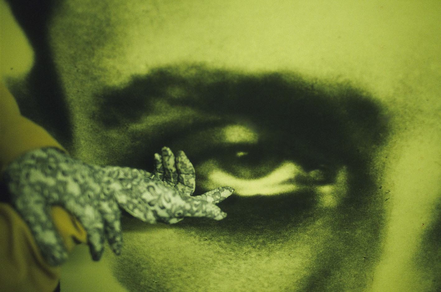 Christine Spengler. Yeux et bouches. L'oeil d'André Breton