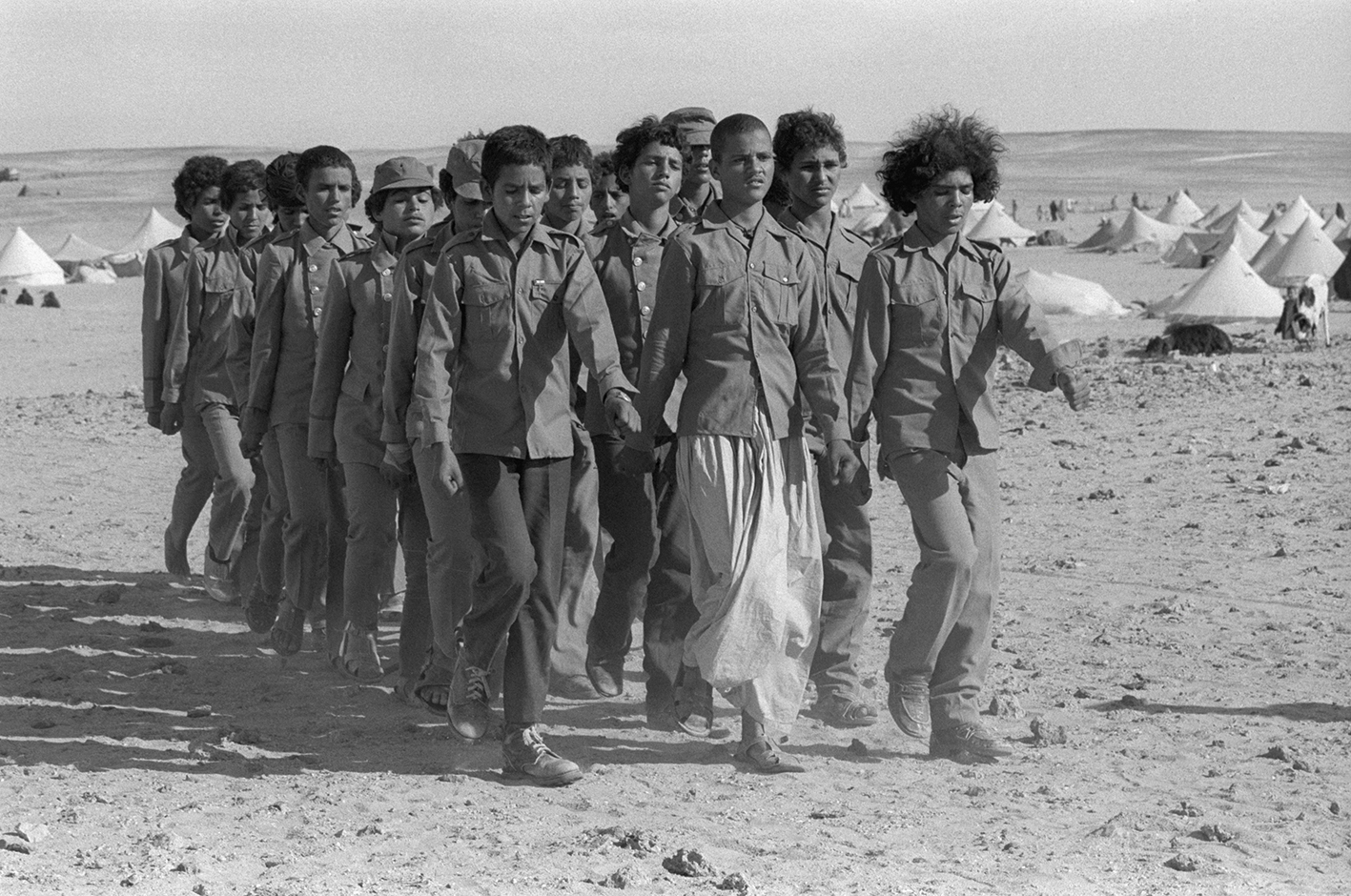 &#169Christine Spengler - Sahara Occidental. 1976.
