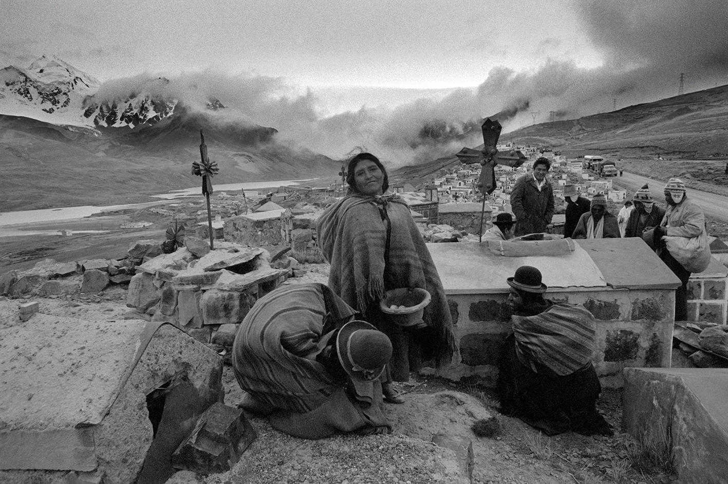 &#169Christine Spengler - Bolivie, 1982. Milluni.