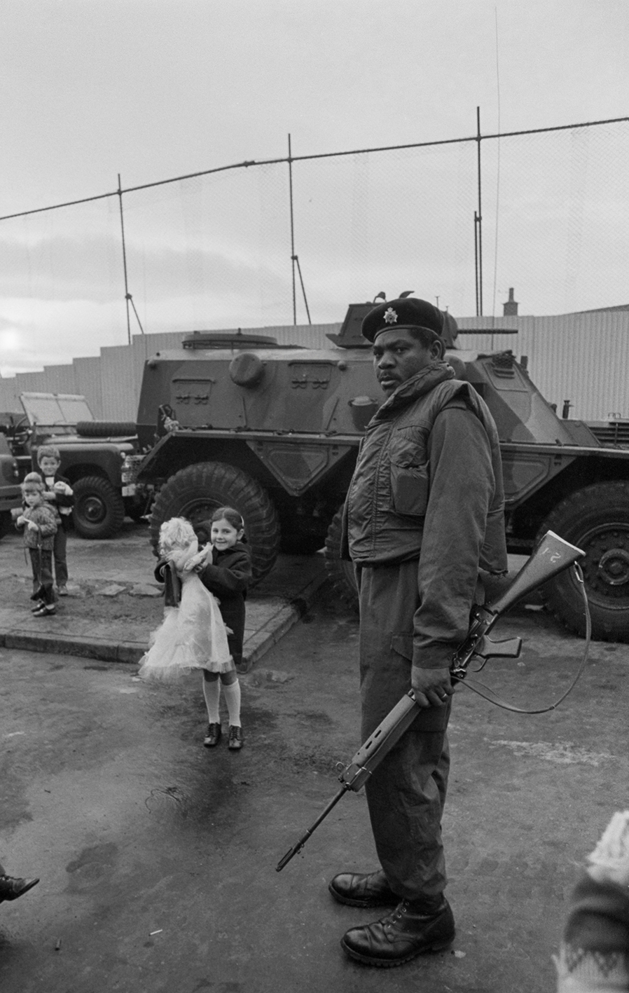 &#169Christine Spengler - Irlande du Nord. Belfast, 1972