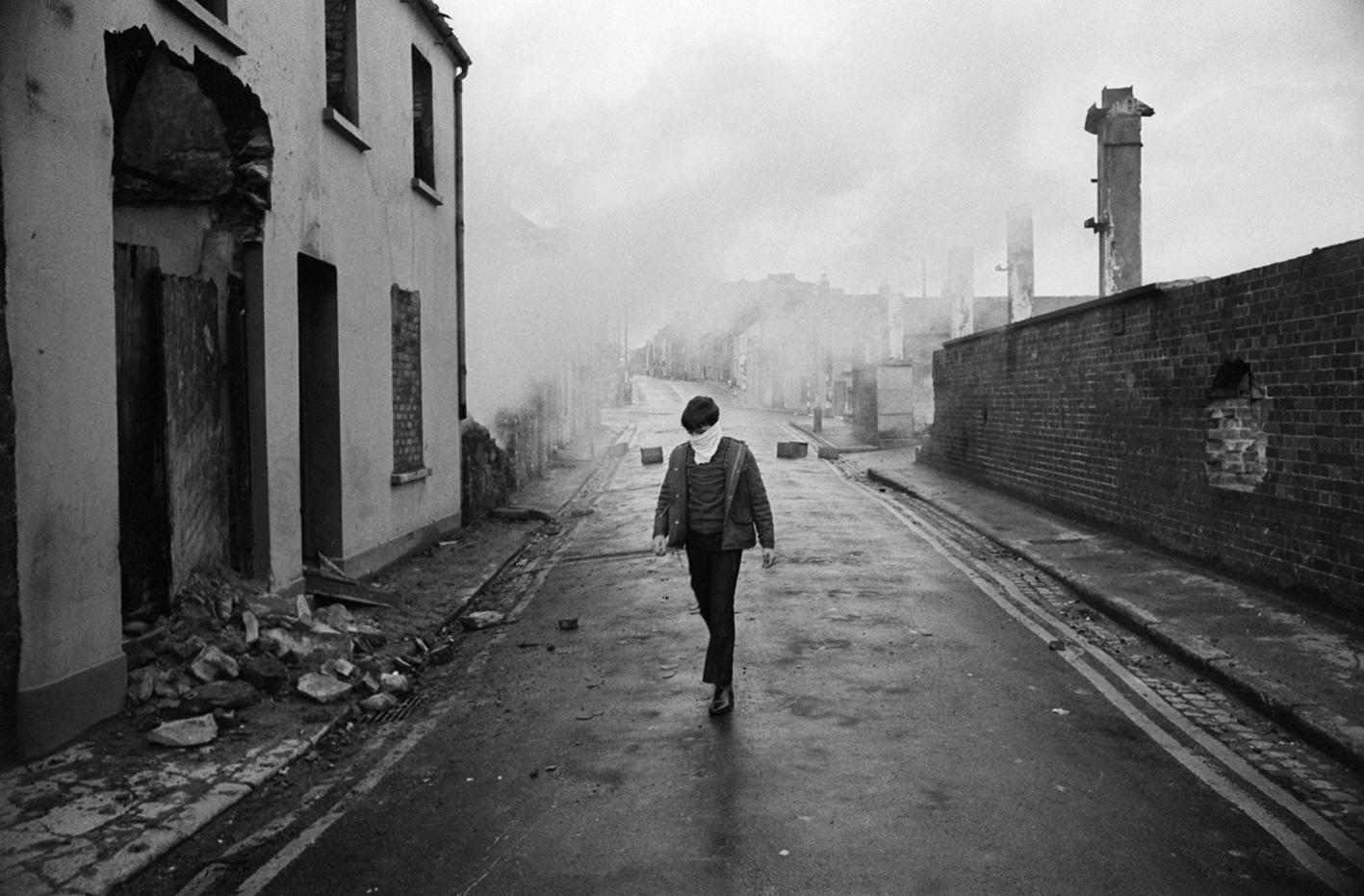 &#169Christine Spengler - Irlande du Nord, 1972.