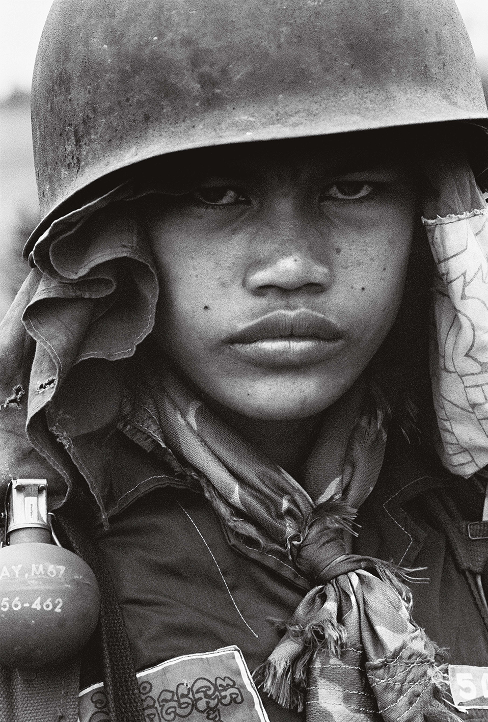 &#169Christine Spengler - Cambodge, 1974.