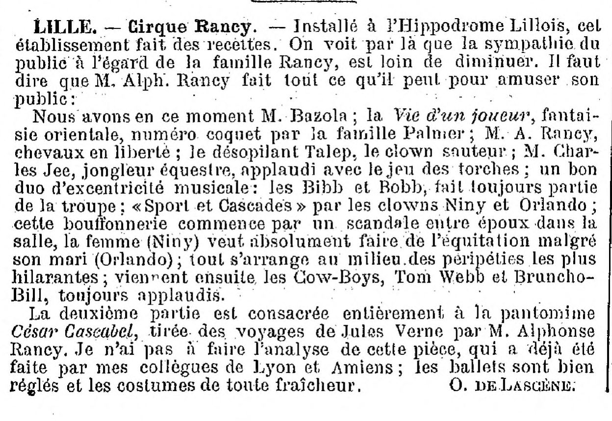 L'art lyrique et le music-hall - 25 Septembre 1898