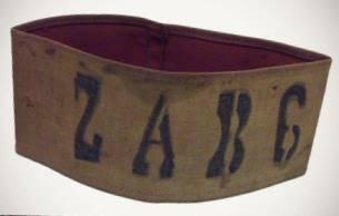 Brassard rouge des ZAB