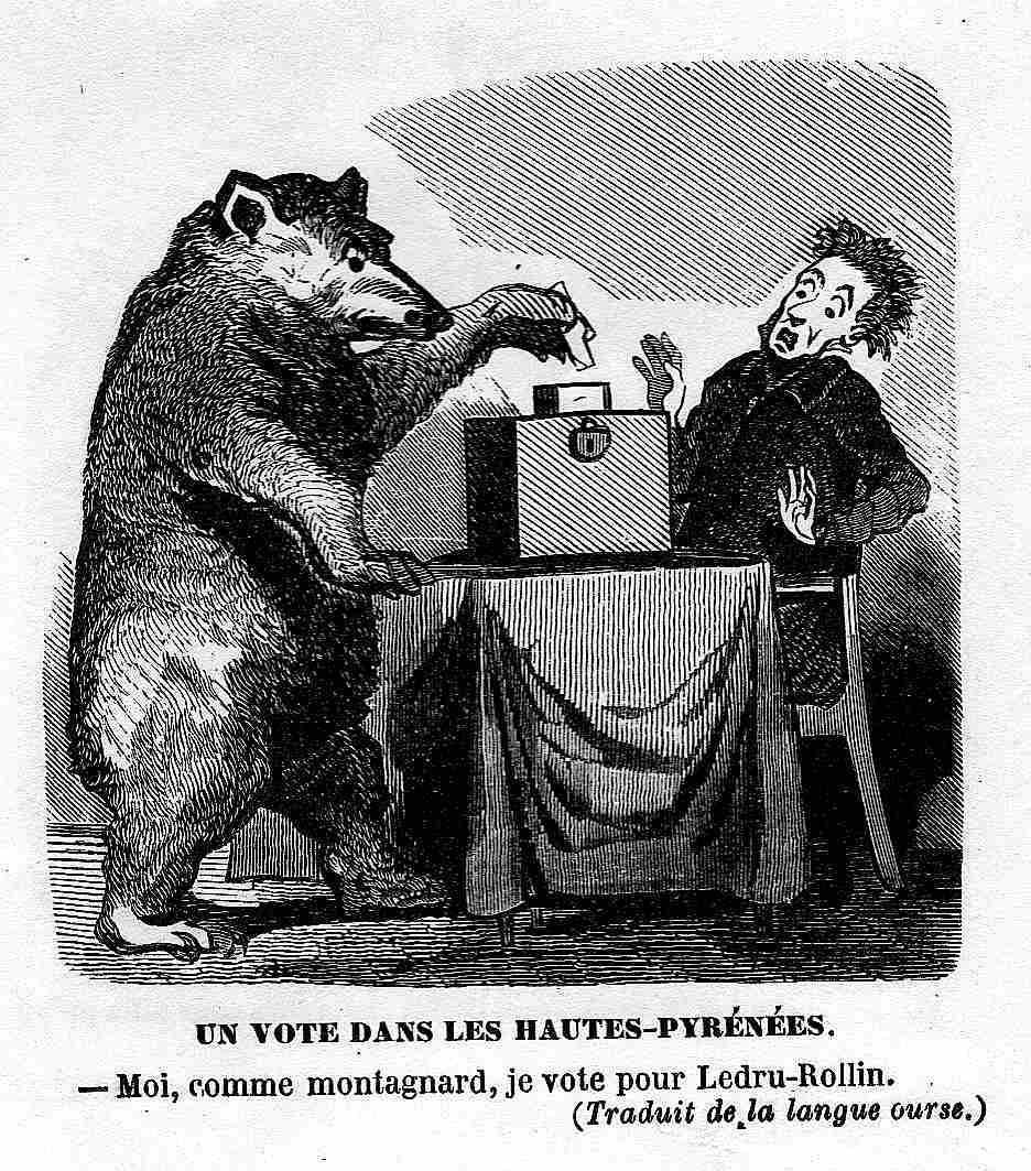 Caricature politique 1849