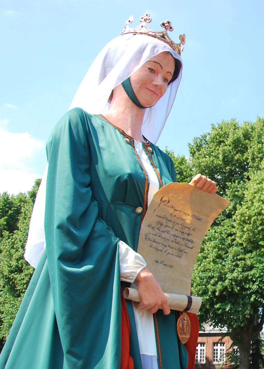 Marguerite de Flandre - Seclin - Archives municipales