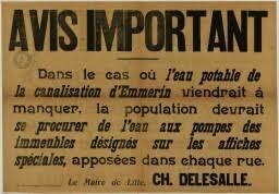 Origine archives Municipales de Lille