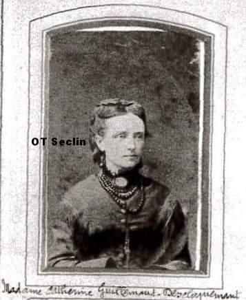 Catherine Anne-Marie Descloquemant (1833-1916), épouse de Claude Aîné Guillemaud