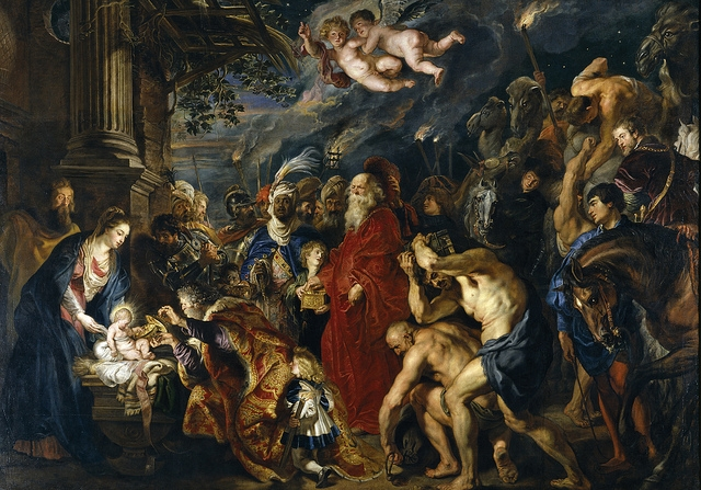 Rubens - l'Adoration des Mages (1609-1628-29 - Musée du Prado, Madrid)