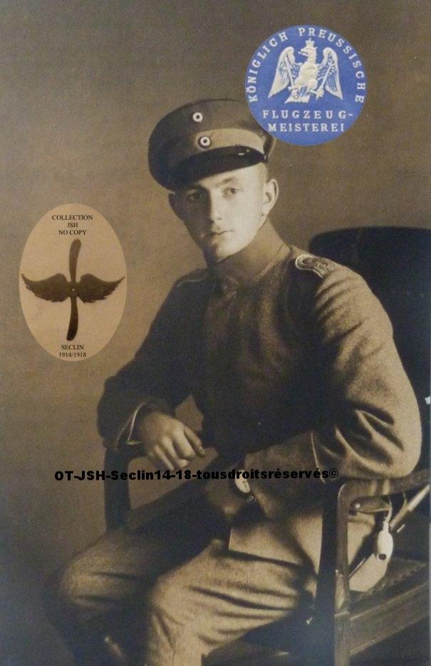Le pilote observateur lieutenant de Reserve Fliegerabteilung 32 Fritz Beuttler