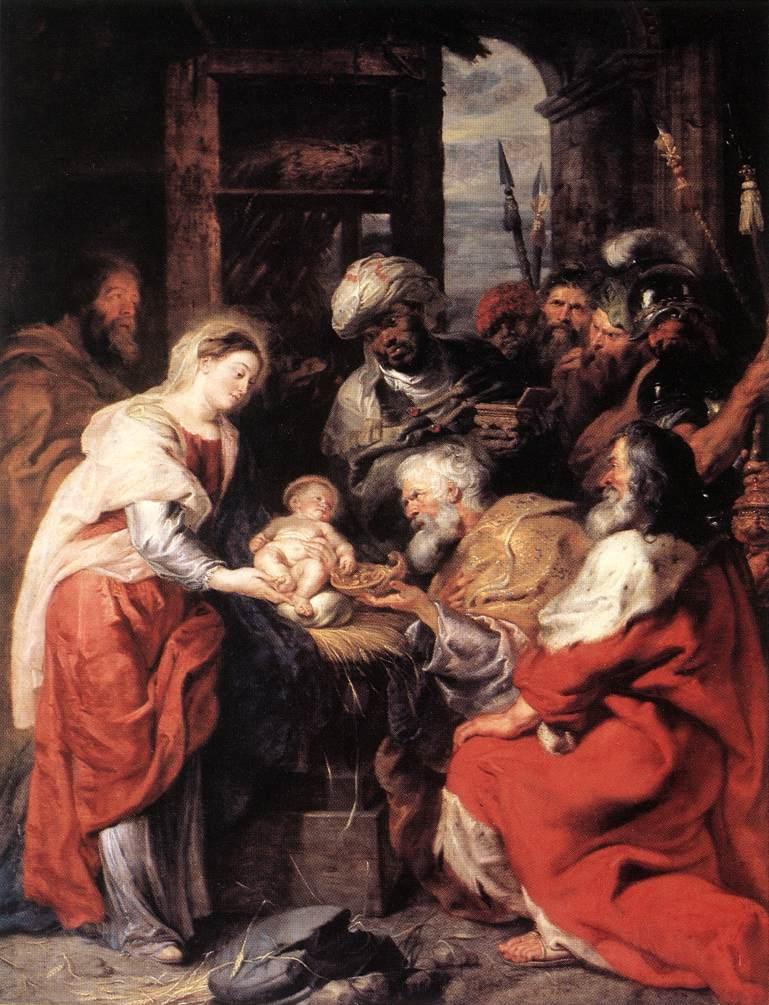 Rubens - l'Adoration des Mages (1629 - Musée du Louvres)