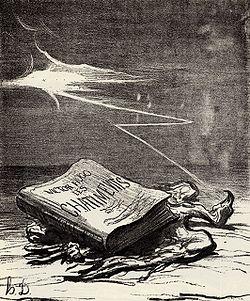 """Les Châtiments de Victor-Hugo... pamphlet de Hugo contre """"Napoléon le Petit"""""""