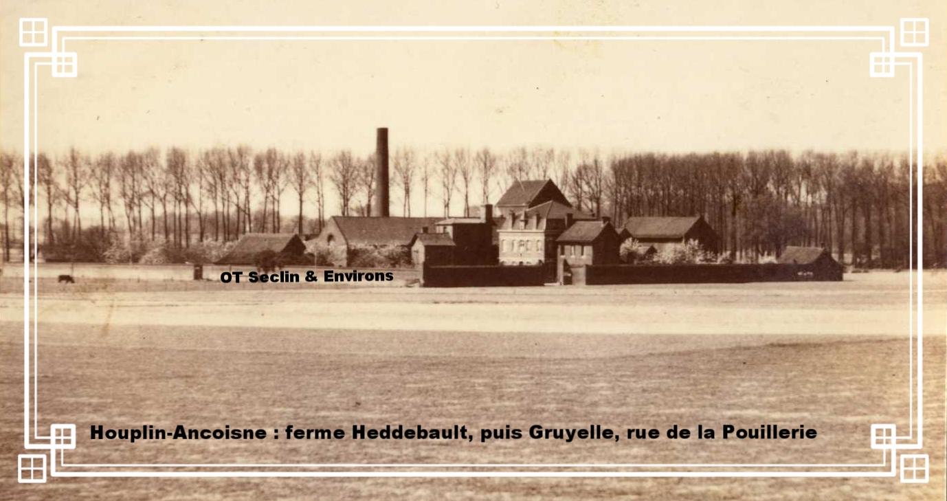 La ferme Gruyelle d'Houplin fin XIXe début XXe siècle
