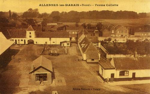Vue de la distillerie d'Allenes-les-Marais