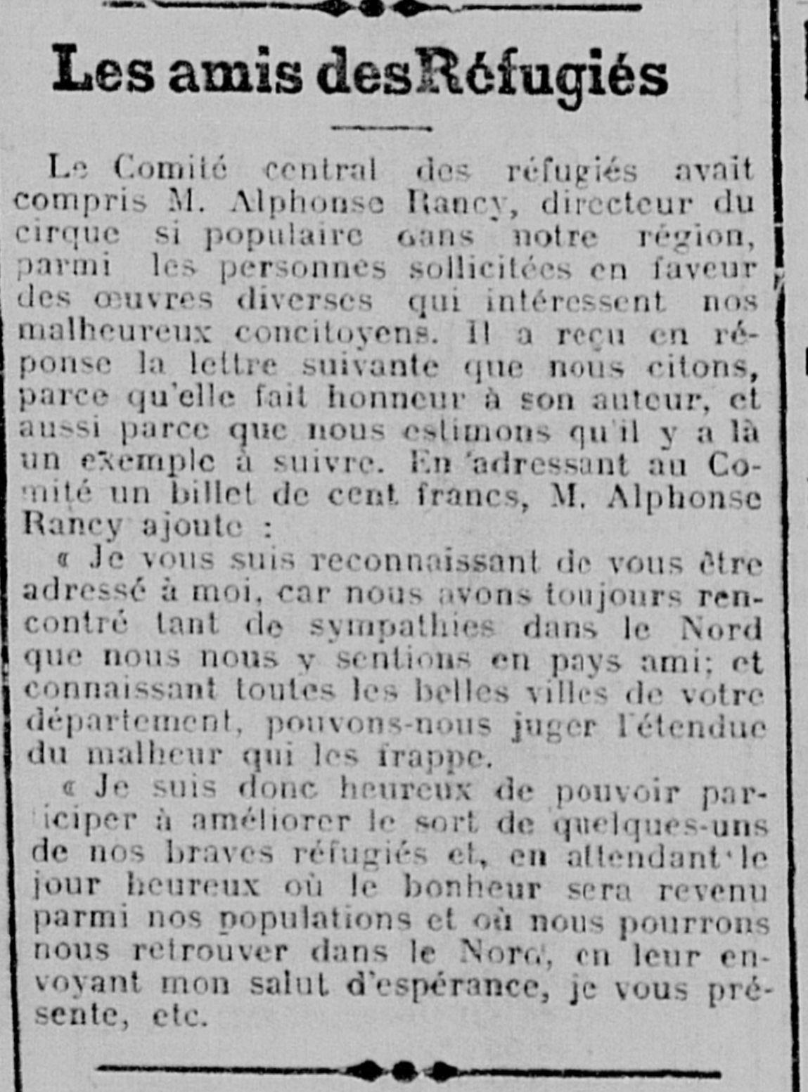 Le journal des réfugiés du Nord - 5 décembre 1917 (01)