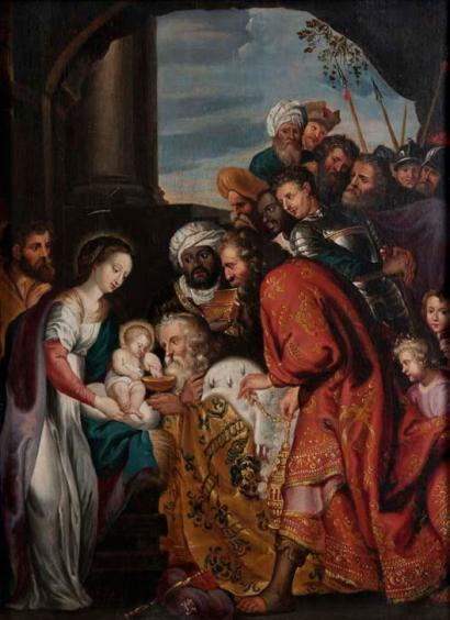 L'Adoration des Mages (copie du Rubens de Malines)