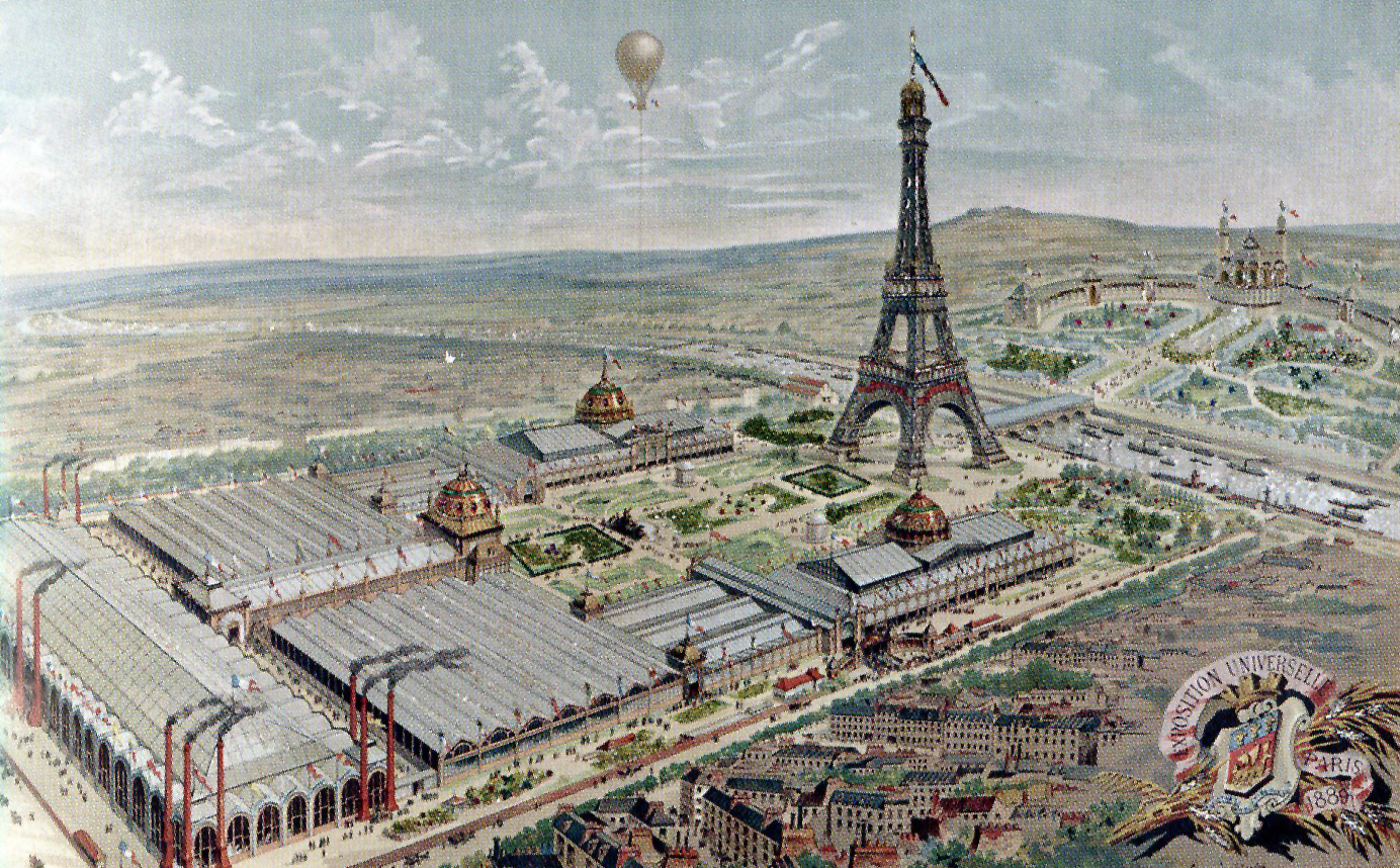 Exposition Universelle de Paris en 1889