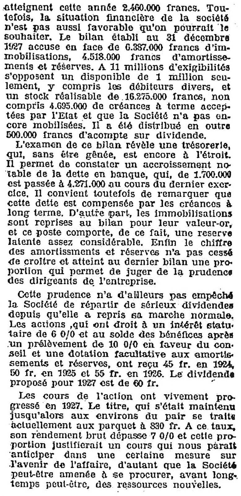 Journal des Finances - 2 Mars 1928 - deuxième partie