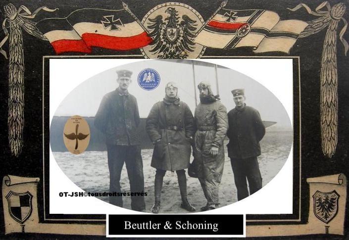 Fliegerabteilung 32, Beuttler et Schoning