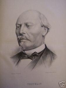 Achille Testelin (1814-1891), député du Nord. Un Républicain mais qui vota avec La Montagne