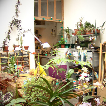 View of the atelier