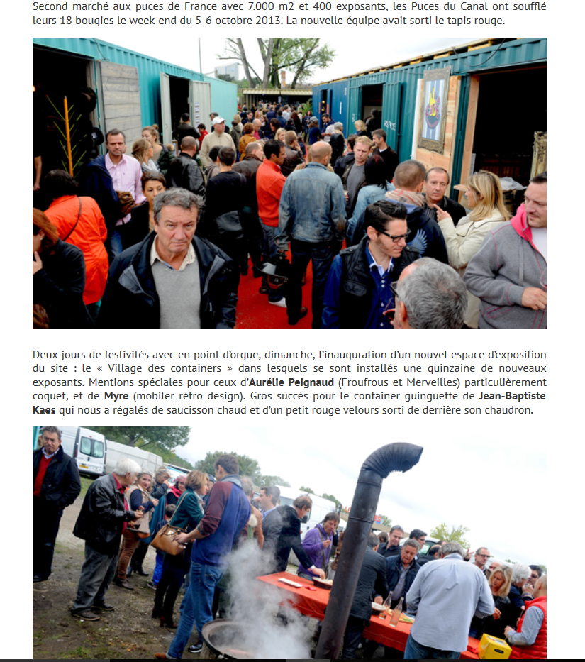 Lyon People - Inauguration du village des containers
