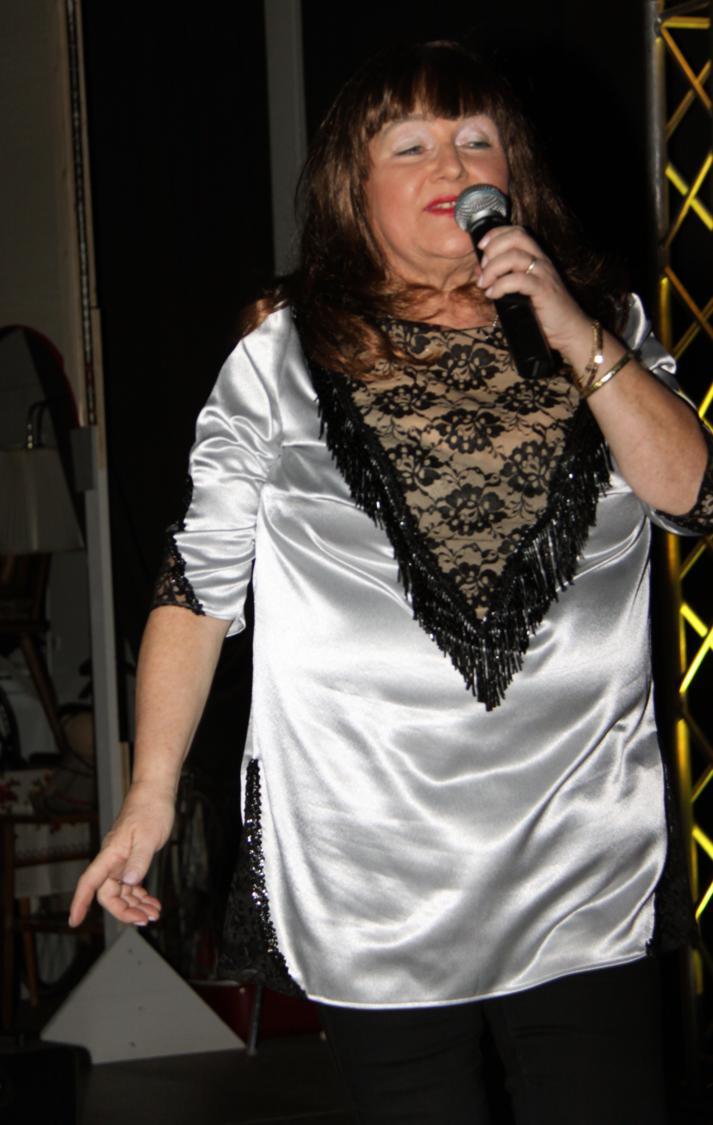 """Helga Lusar als """"Andrea Berg"""""""