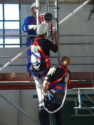 Höhenrettung Industriekletterer