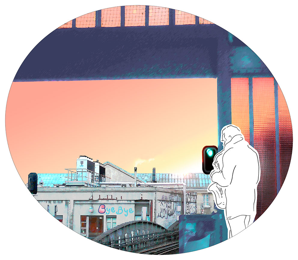 Bye Bye -art digital (DIASEC)- Collect. privée