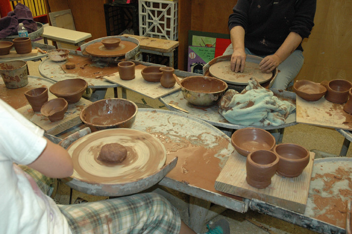 Wheel-thrown Pottery Class