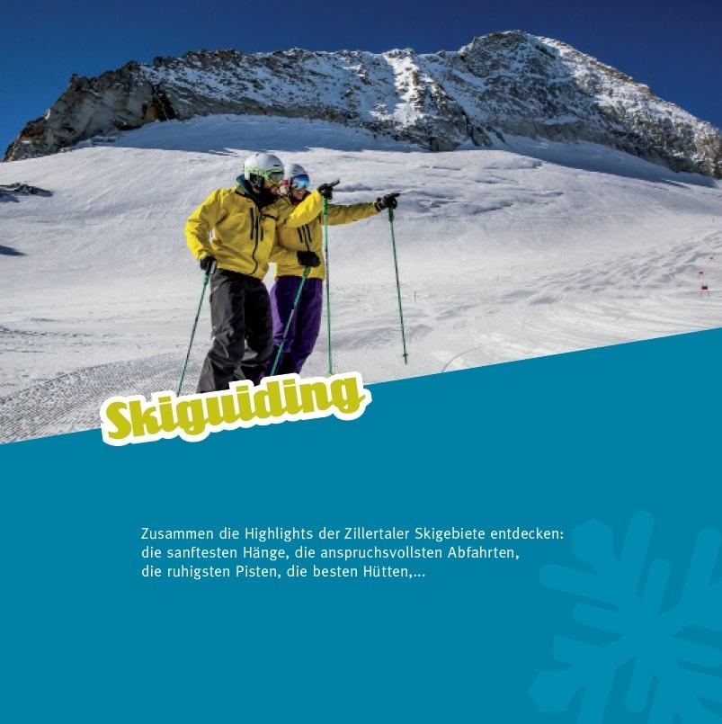 Privatskischule Zillertal mit Skilehrer Nina Tipotsch, SNOW LIFE