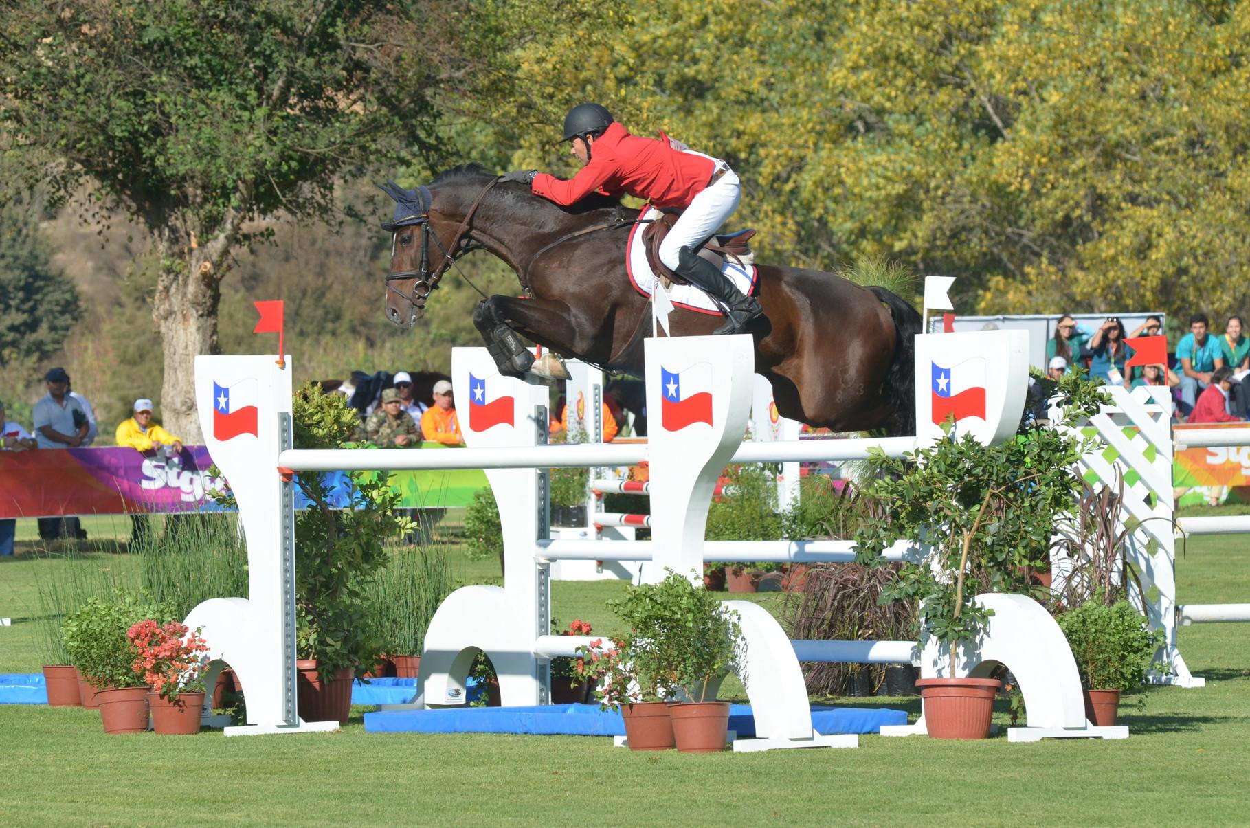 Ignacio Montecinos (Chile) - Gold Medal (Team Competition)