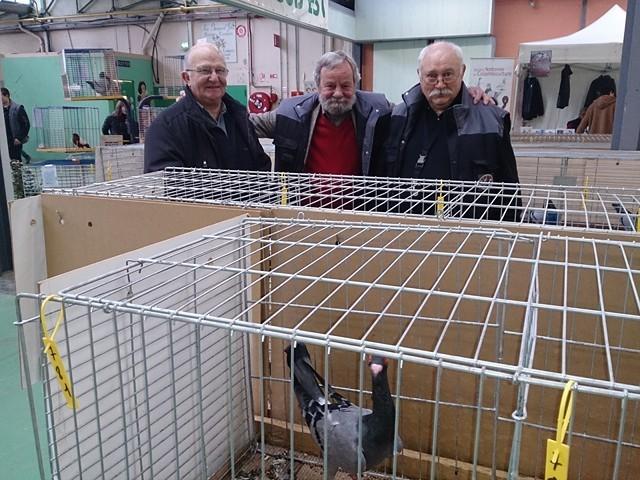 Roger Bouygues, Eddy Kurpy, Christian Fagot