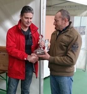Didier Moulin reçoit sa récompense