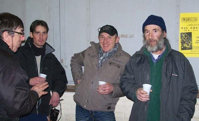 Les amis du club des Capucins Michel, J Luc et Gilles