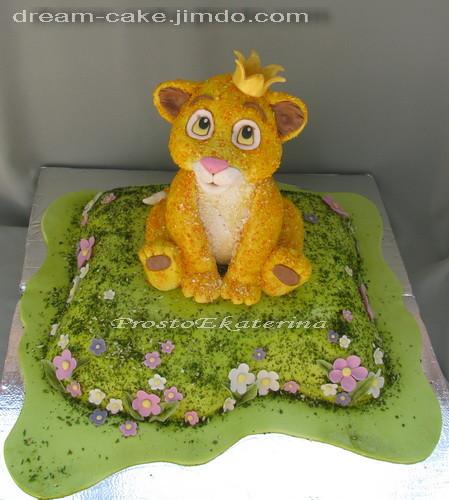 Тортик лунтик пошагово фото