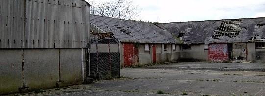 Relikte der Coleraine Distillery