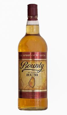 Bounty Golden Rum aus St. Lucia