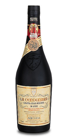 Grappa di Centenara 10 Jahre - Destilleria Aquileia
