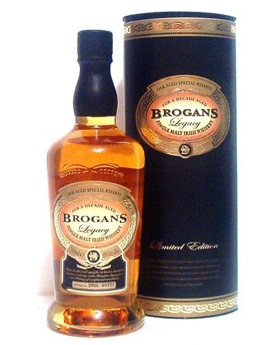Brogan's Legacy Irish Single Malt Whiskey