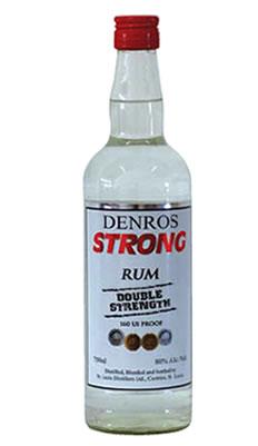 Denros Strong Rum aus St. Lucia
