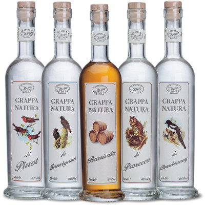 Brotto Grappa Natura Serie