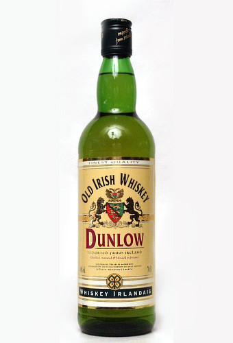 Dunlow Old Irish whiskey