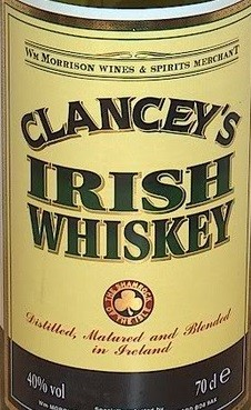 Clancey`s Irish Whiskey