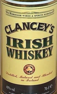 Clancey`s Irish Whiskey