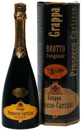 Brotto Grappa di Prosecco Cartizze