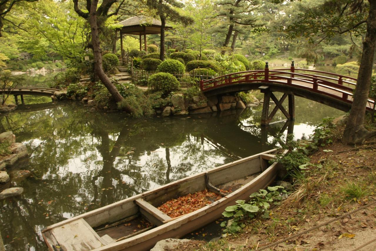 広島市  縮景園 Hiroshima Shukkei-En