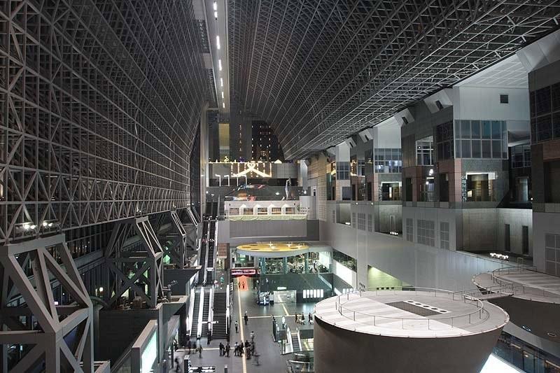 Kyoto, Bahnhof