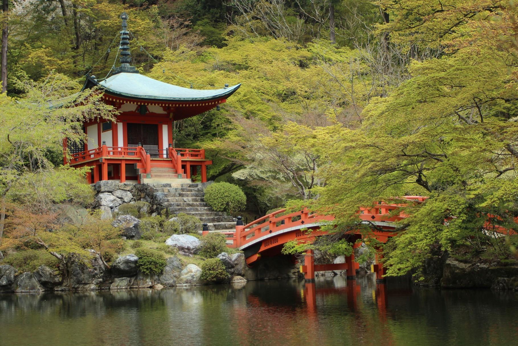 京都市, 醍醐寺  Kyōto, Daigoji