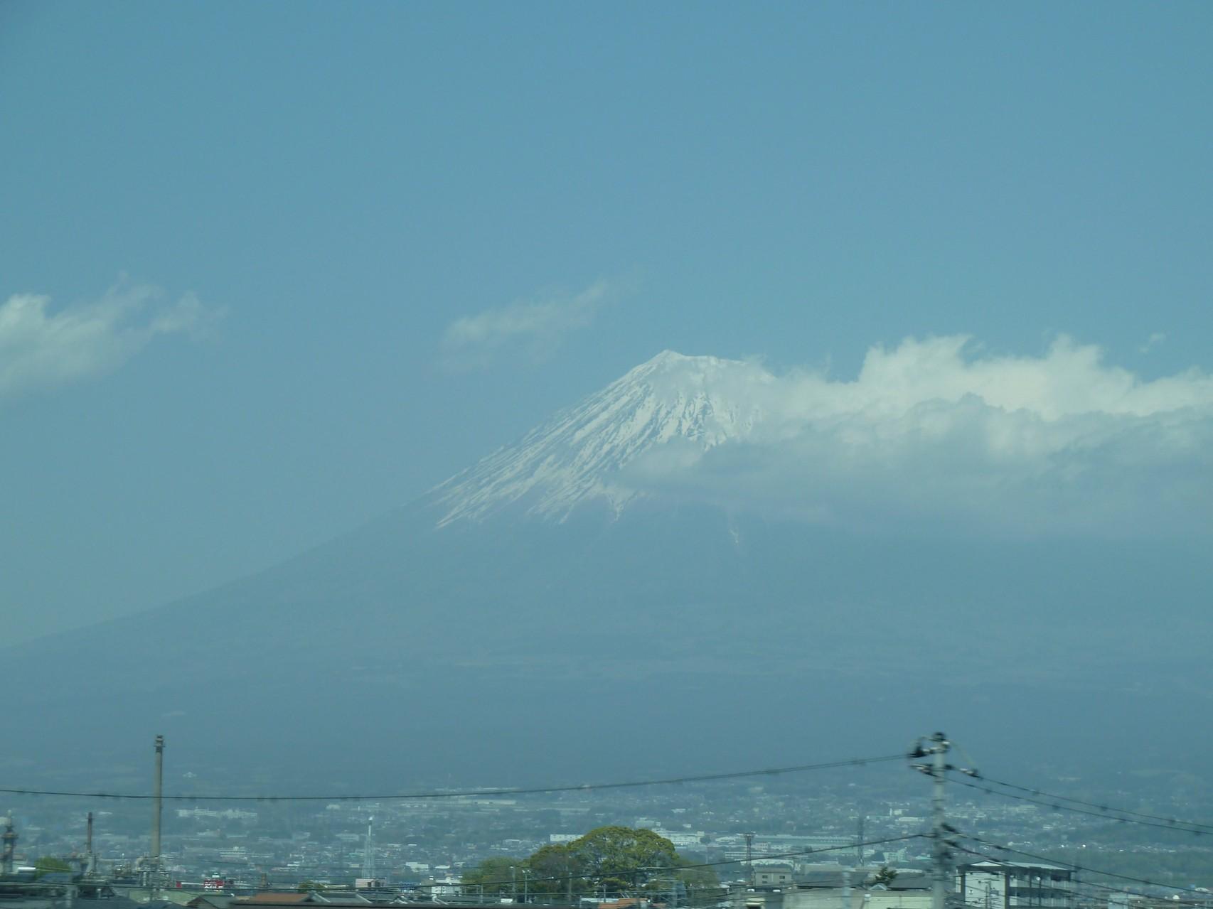 富士山 Fuji vom Shinkansen aus
